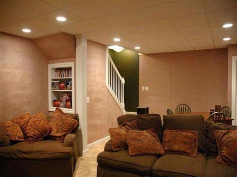 basement lighting design ideas lighting ideas for basement as family room