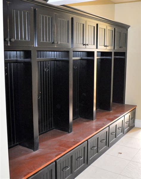 storage locker units black custom mudroom storage unit