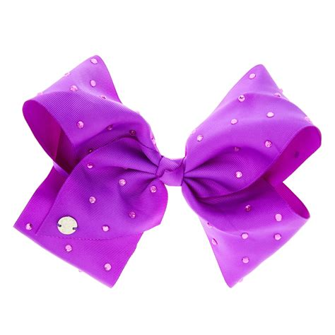 Jojo Siwa Bow By Timorashop jojo siwa large purple signature hair bow s