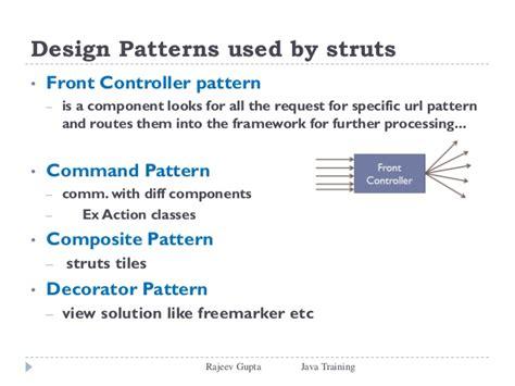 Design Pattern Used In Struts | struts2