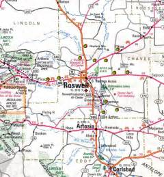 map of roswell atlas f site locations