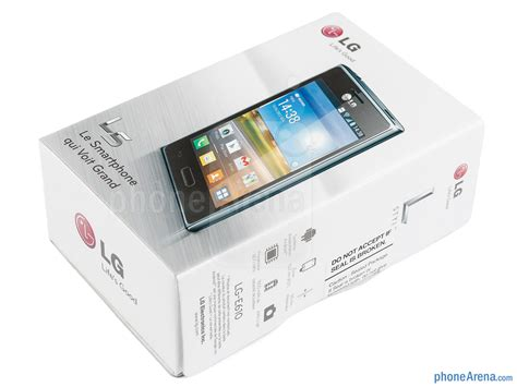 Hp Lg L3 L5 Dan L7 lg optimus l5 review