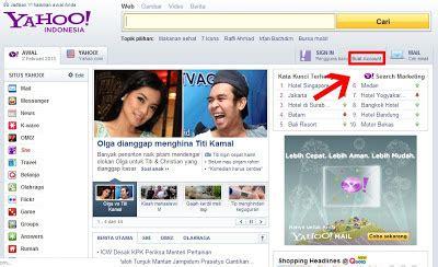 buat email yahoo free cara membuat email baru di yahoo indonesia terbaru 2013
