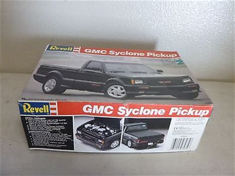 gmc syclone kit revell model kit part car gmc syclone truck
