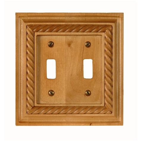 oak light switch covers amerelle 2 toggle wall plate light oak 4011tt the