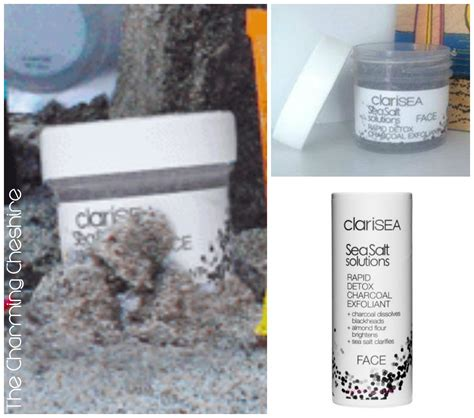 Clarisea Rapid Detox Charcoal Exfoliant Review by The Charming Cheshire June Reveal Ipsy