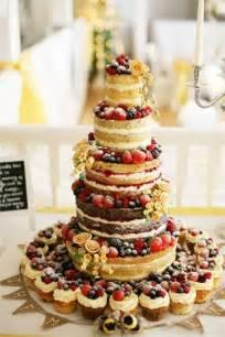 naked wedding cake hitched co uk