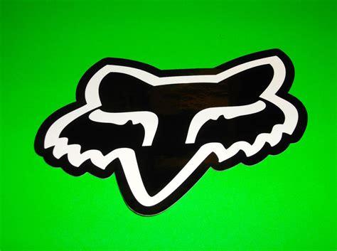 fox motocross stickers fox racing motocross bmx skateboard wakeboard black