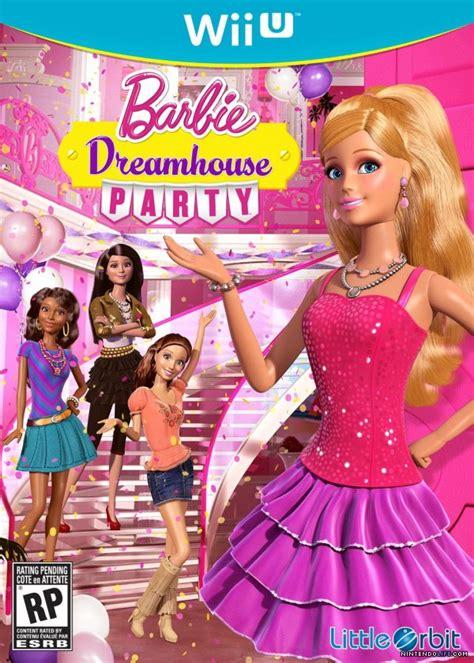 barbie dream house videos barbie dreamhouse party review wii u nintendo life