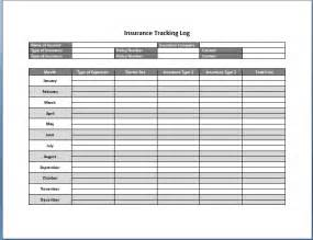 referral tracking template insurance tracking log template format template