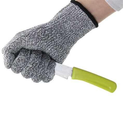 Cut Resistant Gloves Anti Cutting Food Grade Level 5 Kitchen Butcher P safurance anti cutting cut resistant gloves food grade kitchen butcher protection level 5