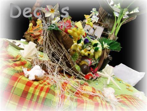 film antillais coco la fleur d 233 corations de buffet antillais aux couleurs du madras et