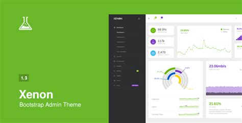 Themeforest Xenon Admin | xenon bootstrap admin theme with angularjs site