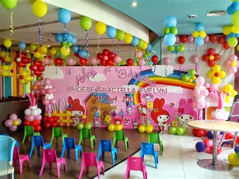 Tenda Ultah Anak jasa dekorasi balon ulang tahun terbaik di jakarta