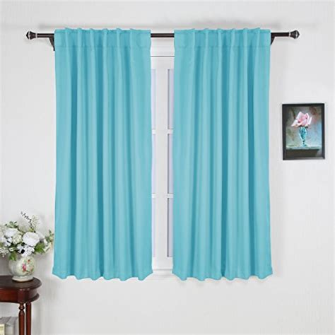 do curtains come in pairs nicetown full shading pair of back tab rod pocket