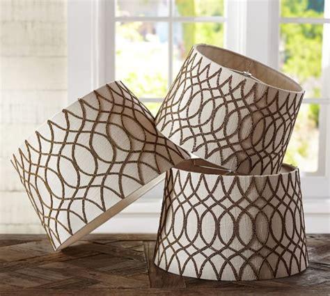 pottery barn beaded l shade beaded tapered drum shade pottery barn