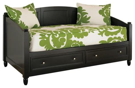 twin daybed with drawers twin size black wood contemporary daybed with storage