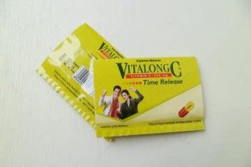Suplemen Vitalong C jual vitalong c kapsul isi 4 prosehat