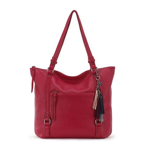 The Sak Palermo Tote Handbag Brown the sak palermo tote handbag ebay