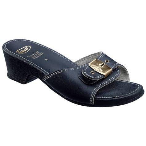 navy high sandals scholl leather look sandals high navy tlc