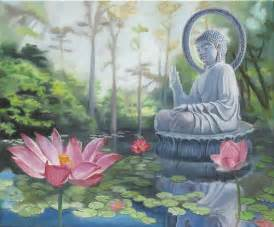 Buddha And Lotus Flower Lotus Flowers And Buddha Flickr Photo