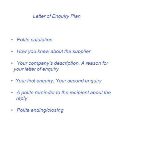 Business Enquiry Letter Definition Business Enquiry Letter Business Letter Definition Business Letter Definition Custom College