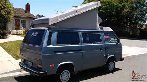 volkswagen vanagon 1987 1987 volkswagen bus vanagon gl quot rust free quot california