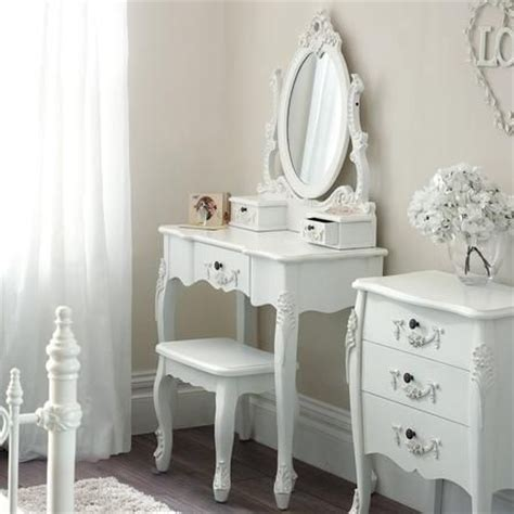 toulouse white dressing table stool home ideas