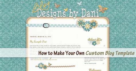 design your blogger template its every templates and