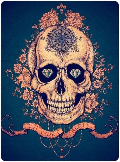 sugar skull tattoo diamond eyes meaning 50 best sugar skull tattoo inspiration images on pinterest