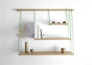 wooden bridge shelves diy wall shelf project minimalist