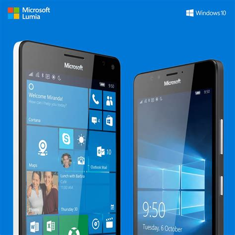 Nokia Microsoft Lumia 950 microsoft เป ดต วโทรศ พท เร อธง lumia 950 และ lumia 950 xl