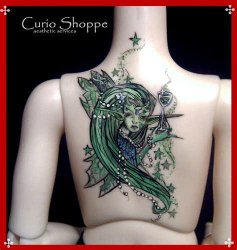 absinthe fairy tattoo by mourningwake press on deviantart