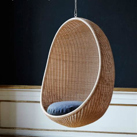 Indoor Hanging Egg Chair by Sika Design Hanging Egg Chair Indoor Questo Design