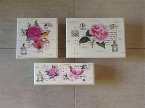 Decoupage Vintage - cajas de te artesan 237 as y decoupage