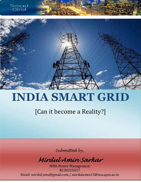 Can You Become A Principal With An Mba by India Smart Grid Can It Become A Reality