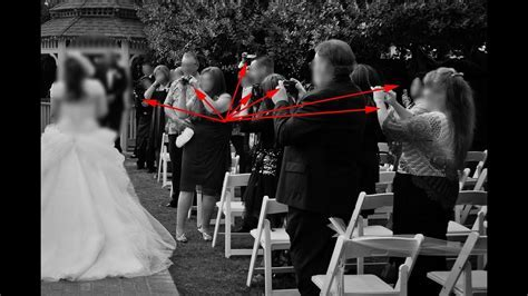 Why Wedding Guests Should NOT Use Cameras During a Wedding