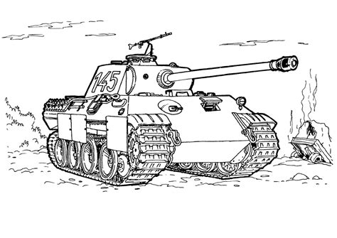 sherman tank coloring pages coloring pages