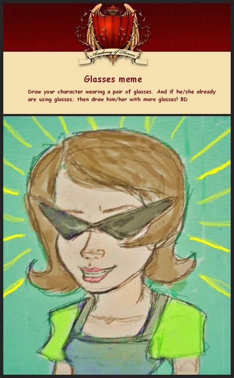 Glasses Meme - glasses meme by vkimi on deviantart