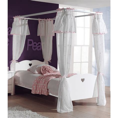 lit baldaquin fillette beautiful chambre fille but
