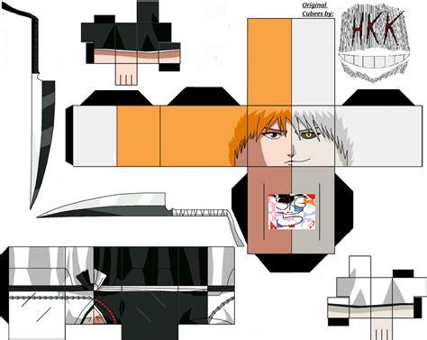 Ichigo Papercraft - ichigo kurosaki ikasoruk ogihci by superkamiguru5 on