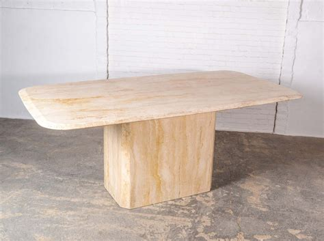 High Quality Dining Tables Mid Century High Quality Travertine Dining Table 1960s 67220