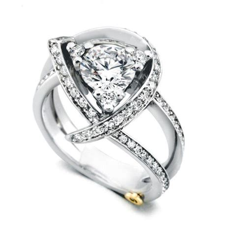 marks and engagement rings schneider luxury freeform engagement ring