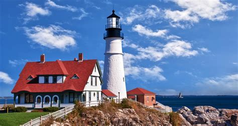 where the light is 10 best maine lighthouses