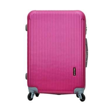 Tas Travel Trolley Karakter Size 24inch jual polo team 030 hardcase kabin tas koper merah muda 20 inch harga kualitas