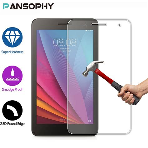 Huawei Mediapad T1 7 0 Inch Ume Tempered Glass מוצר 9h 7 quot screen protector for huawei mediapad t1 7 0