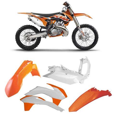 Ktm Plastic Kits Acerbis Plastic Kit Ktm Sx125 150 13 15 Sx Xc 250 13 16