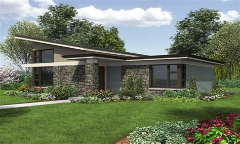One Story Modern House Plans Modern House Plans Single Storey Modern House