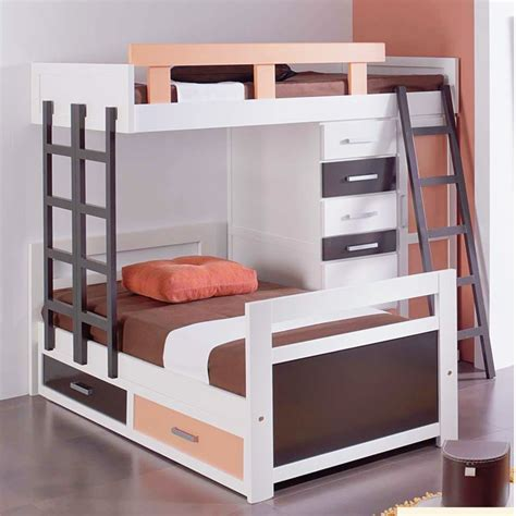 cama litera de madera cama infantil tipo tren litera en madera maciza