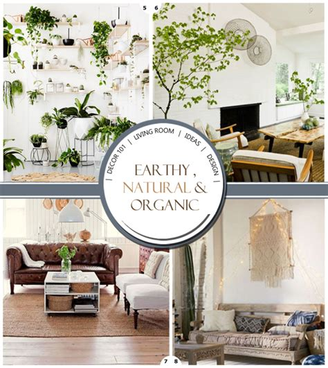 organic home decor organic living room decor ideas design your home with style